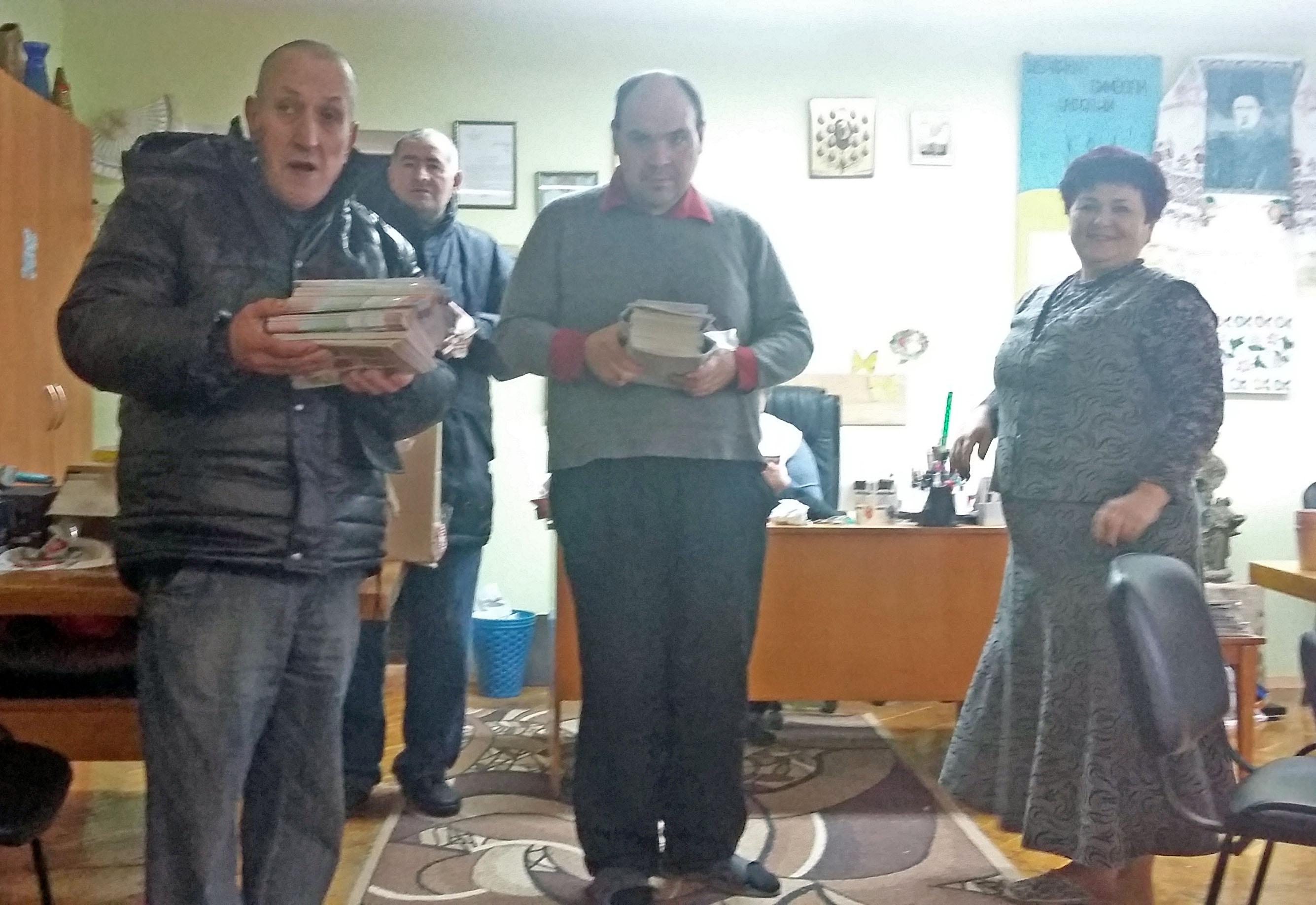 В Новобелицком интернате принимают подарки от компании АВС
